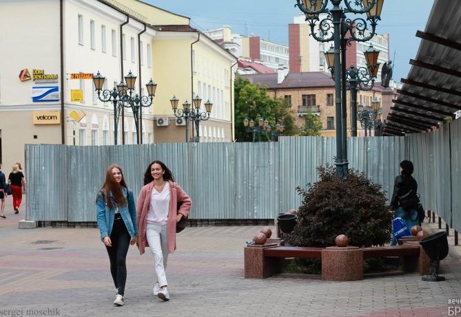 Почему в Бресте перекрыли улицу Советскую?
