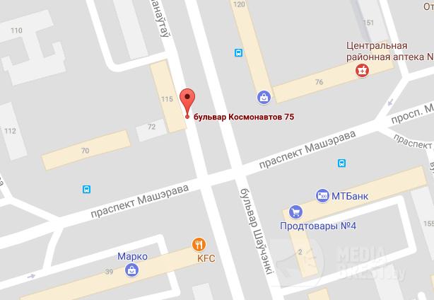 На бульваре Космонавтов в Бресте в ДТП пострадала пассажирка