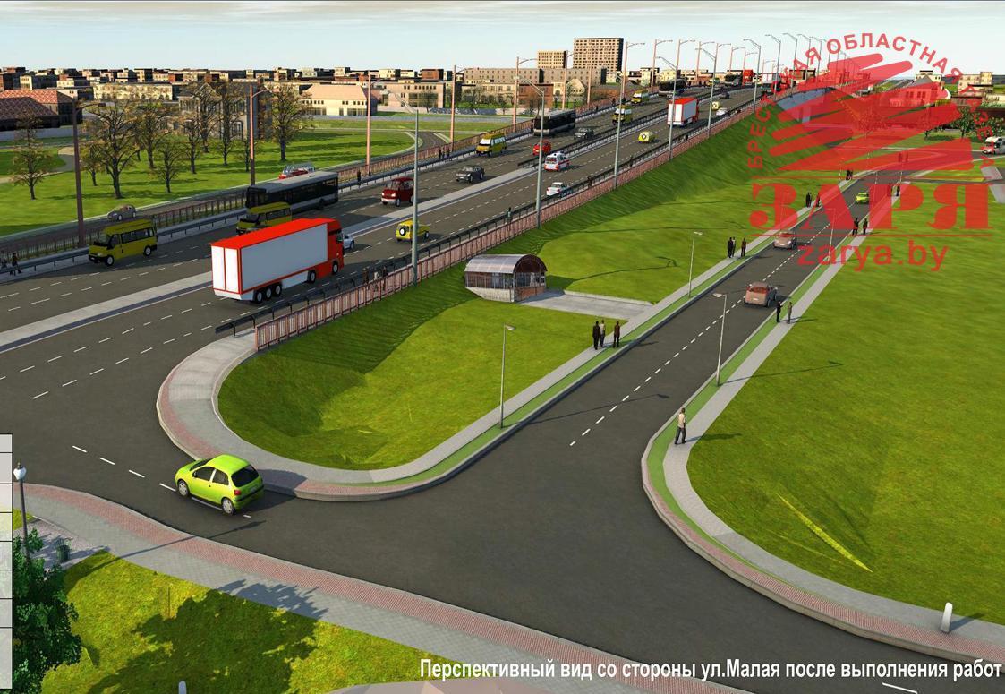 «За Вело Брест» выступил против реконструкции «кобринского» моста из-за «ущемления интересов велосипедистов и пешеходов»