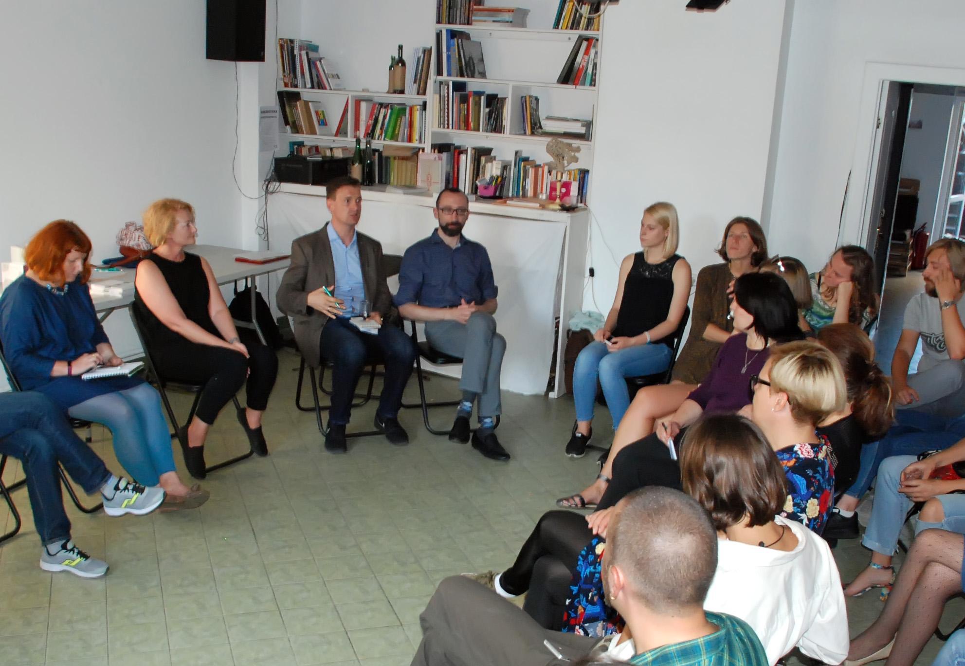 31 августа в «Пространстве КХ» прошел интенсив «Креативная экономика в Беларуси и Германии»