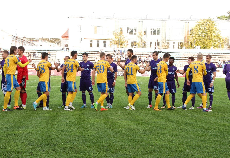 «Динамо-Брест» сыграл вничью с литовским «Атлантасом» – 1:1