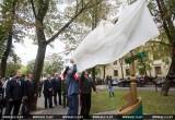 На аллее фонарей на Гоголя появился новый арт-объект от брестских таможенников