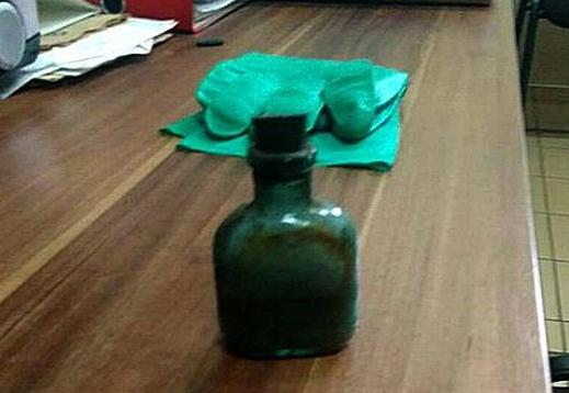 На Брестском мусороперерабатывающем заводе обнаружили бутылку с 400 граммами ртути