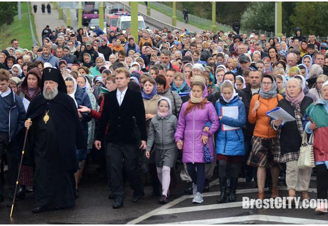 Утром 18 сентября в Бресте состоялся Крестный ход