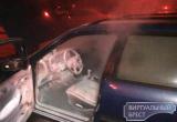 В Бресте в районе ПТО «Варшавский мост» горел автомобиль с польскими номерами