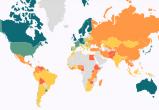 Беларусь опустилась в обновленном мировом рейтинге верховенства права
