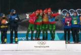 Женская сборная Беларуси по биатлону завоевала золото на Олимпиаде в Пхенчхане