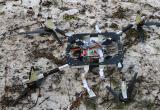 Брестские пограничники обнаружили квадрокоптер с грузом из 300 пачек сигарет, летящий в Польшу