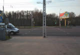 10 апреля в Бресте на Московской автомобиль сбил 42-летнего брестчанина