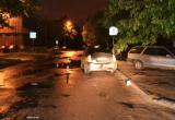 В Бресте на Краснознаменной автомобиль такси сбил нетрезвого велосипедиста