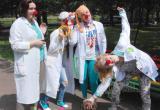 Выставка «Ярмарка услуг Белорусского Красного Креста» прошла в городском парке