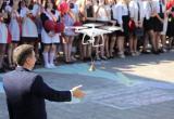 В Барановичах последний звонок дал дрон