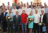 В Брестском облисполкоме прошла церемония чествования БГК имени Мешкова