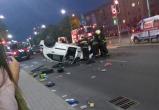 Происшествия на выходных в Бресте: спасение хозяина горящей квартиры и перевернувшийся автомобиль
