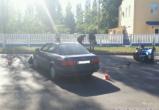 В Бресте на Красногвардейской в ДТП пострадала пассажирка мотоцикла