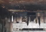В Бресте сгорел прицеп-рефрижератор