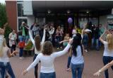 Возле брестского роддома состоялся танцевальный флешмоб