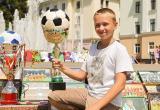 В Бресте прошла выставка футбольной атрибутики
