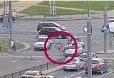 В Бресте велосипедист врезался в машину