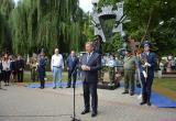 В Бресте открыли новую скульптуру воинам-десантникам