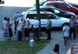 На ул. Мицкевича бус сбил пожилого мужчину... на тротуаре