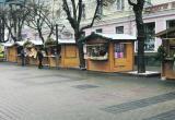 C улицы Гоголя в Бресте уберут новогодние палатки