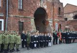 В Брестской крепости прошла церемония посвящения школьников в кадеты (видео)