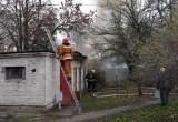 На улице Гоголя в Бресте горели постройки