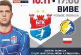 Лига чемпионов снова в Бресте! БГК им. Мешкова принимает польский «Виве»