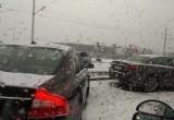 Первый снег и первые ДТП