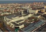 Брест: шикарный осенний облет центра города с высоты (видео)