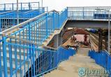 На Брест-Восточном открыли новый пешеходный мост