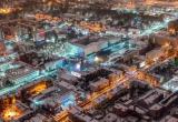 В интернете появились фотографии зимнего Бреста сделанные с дрона