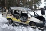 Таксиста убили, а машину сожгли в Калинковичском районе