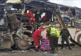В Боливии 22 человека погибли в результате столкновения двух автобусов