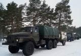 Военная техника на дорогах Брестчины. Минобороны предупреждает