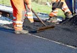 В районе Радужная-Красногвардейская ремонтируют дорогу