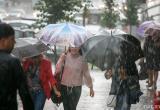 Погода на понедельник: сильный ветер, снег и дождь