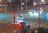 Очередное ДТП произошло на перекрестке улиц Машерова и Пионерской (видео)