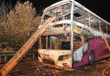 В Китае загорелся туристический автобус: есть жертвы