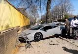 Владелец разбил новый Lamborghini сразу после покупки (видео)