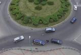Водители подрались на Бульварном кольце в Бресте (видео)