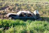 Легковушка опрокинулась под Кобрином: трое в больнице