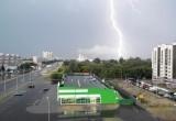 Сегодня к 17.00 в Бресте ожидается гроза и ливень