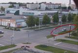 Машина каталась по встречке в Кобрине (видео)