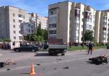 Пьяный водитель грузовика сбил мотоциклиста-бесправника в Барановичах