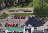 Синхронный выезд с парковки привел к аварии в Кобрине (видео)