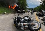 В ДТП погибли не менее 7 байкеров в США (видео)