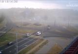 Песчаная буря в Бресте попала на видео