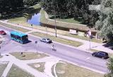 Велосипедист-экстремал ездил по Кобрину (видео)